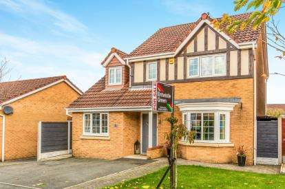 4 Bedrooms Detached House for sale in Holmecroft Chase, Westhoughton, Bolton, Greater Manchester, BL5