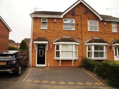 3 Bedrooms Semi Detached House for sale in Coningsby Drive, Winsford, Cheshire, England