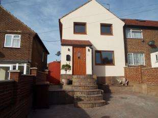 3 Bedrooms End Of Terrace House for sale in Lancelot Avenue, Rochester, Kent