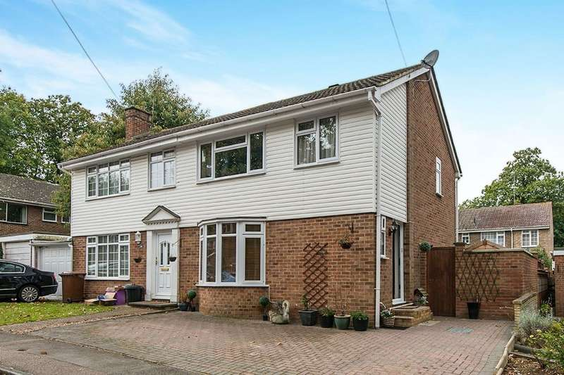 3 Bedrooms Semi Detached House for sale in Sandgate Court, Rainham, Gillingham, ME8