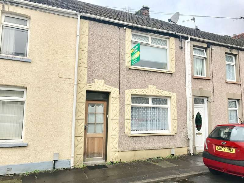 2 Bedrooms Terraced House for sale in Beaconsfield Street, Cadoxton, Neath