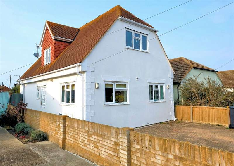 3 Bedrooms Detached House for sale in Russell Drive, Swalecliffe, WHITSTABLE, Kent