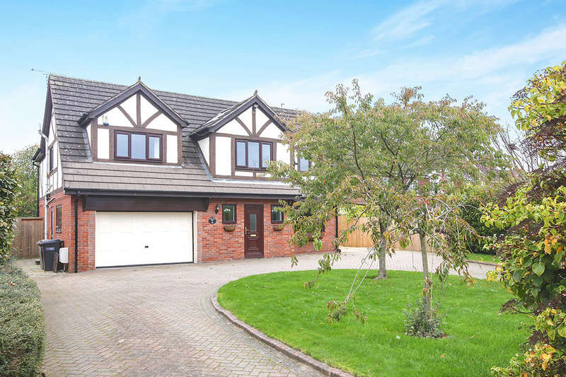 4 Bedrooms Detached House for sale in Croxton Lane, Middlewich, CW10