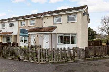 2 Bedrooms End Of Terrace House for sale in Glencalder Crescent, Bellshill, North Lanarkshire