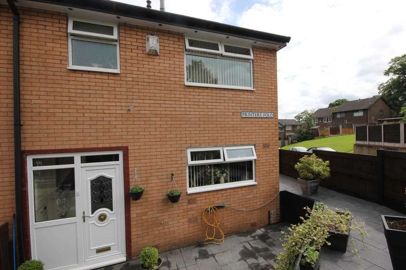 3 Bedrooms Mews House for sale in Printers Fold, Hollingworth, Hyde
