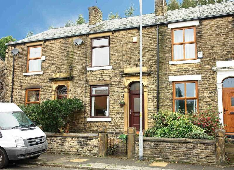 2 Bedrooms Terraced House for sale in Huddersfield Road, Newhey, Rochdale