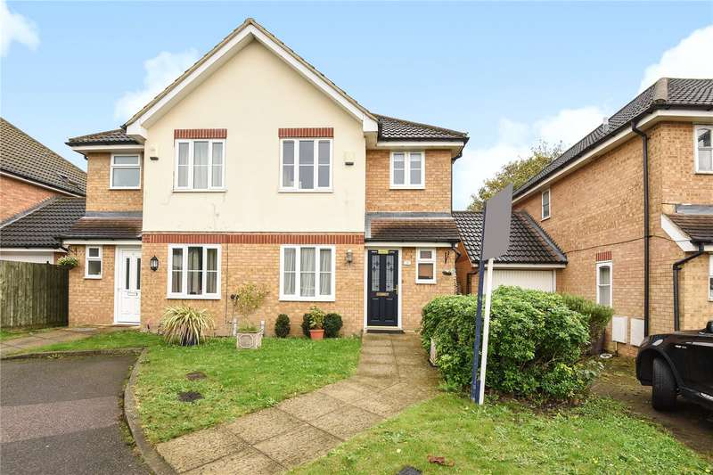 3 Bedrooms Semi Detached House for sale in Trinity Drive, Hillingdon, Middlesex, UB8