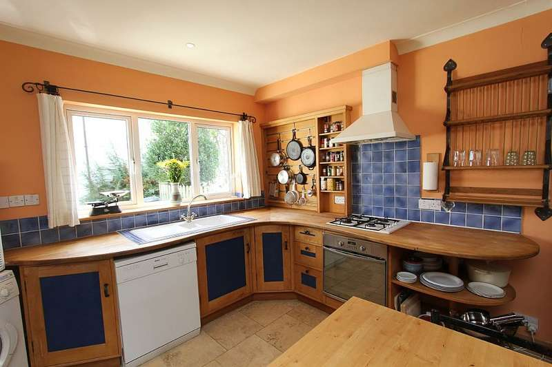 4 Bedrooms Semi Detached House for sale in Birchwood Close, Totnes, Devon, TQ9 5GB