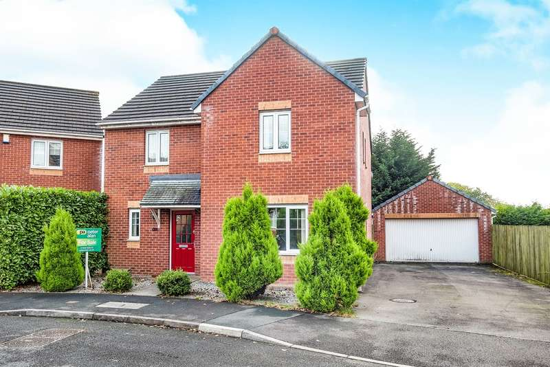 4 Bedrooms Detached House for sale in Havard Jones Close, Briton Ferry, Neath