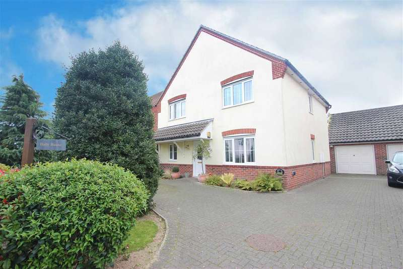4 Bedrooms Detached House for sale in Clacton Road, Weeley Heath