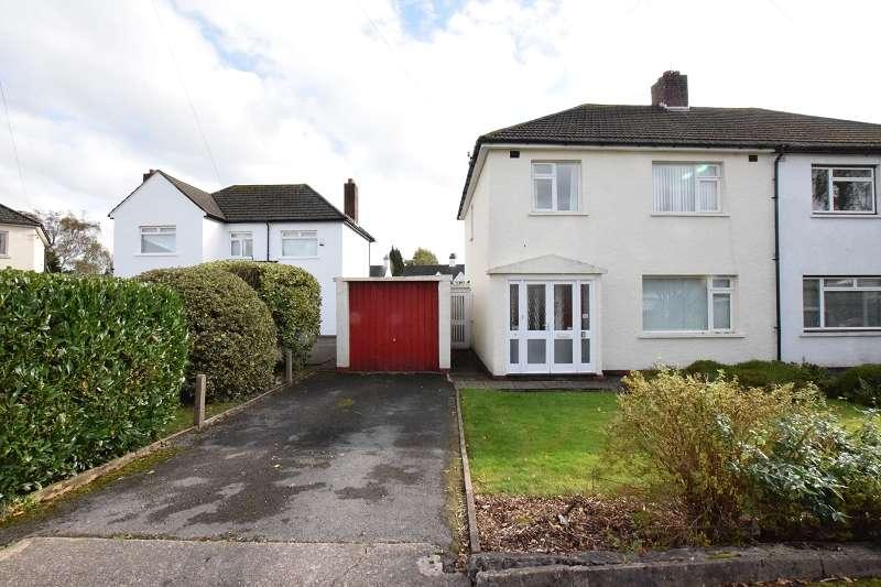 3 Bedrooms Semi Detached House for sale in 11 Lon Ganol , Rhiwbina, Cardiff. CF14 6EB