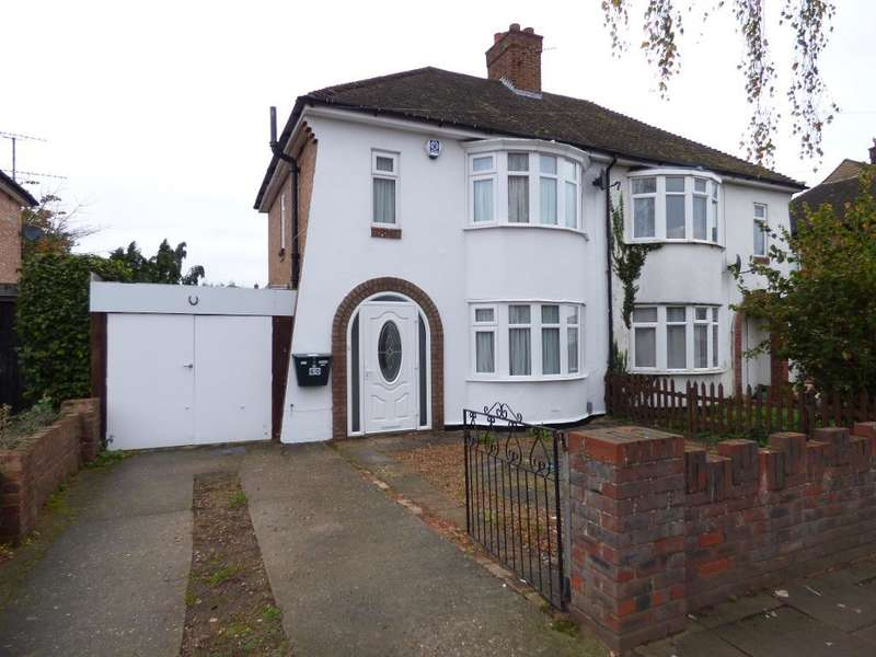 3 Bedrooms Semi Detached House for sale in Brackley Road, Bedford, MK42 9SH