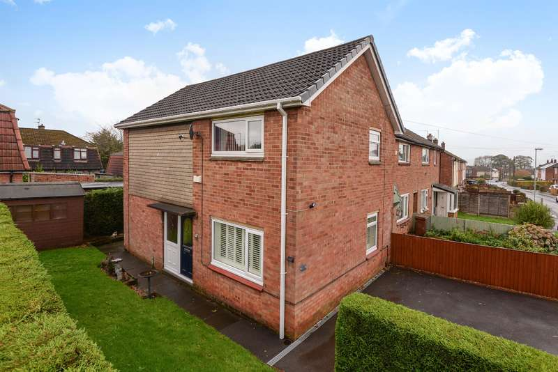 3 Bedrooms Semi Detached House for sale in Shaw Leys, Yeadon, Leeds, LS19 7LA