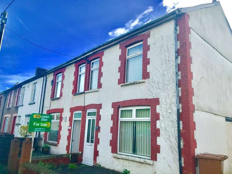 3 Bedrooms End Of Terrace House for sale in Nantgarw Road, Caerphilly