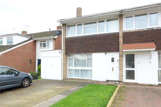 3 Bedrooms Semi Detached House for sale in Wedderburn Close, Winnersh, Wokingham