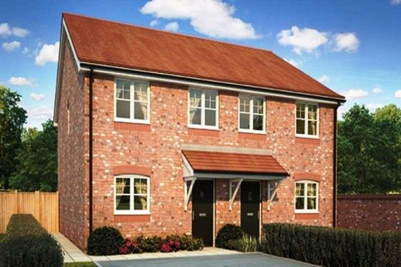 3 Bedrooms Semi Detached House for sale in The Pastures Fleetwood Road, Wesham, Preston, PR4
