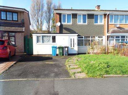 3 Bedrooms Semi Detached House for sale in Lingfield Drive, Walsall, West Midlands