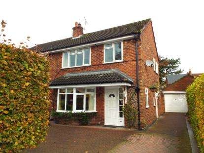 3 Bedrooms Semi Detached House for sale in Sandiway, Knutsford, Cheshire