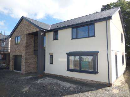 4 Bedrooms Detached House for sale in Plot 1, Y Graig Development, Off Cil Y Graig, Llanfair PG, LL61