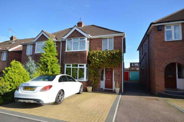 3 Bedrooms Semi Detached House for sale in Madison Avenue, Exeter, Devon