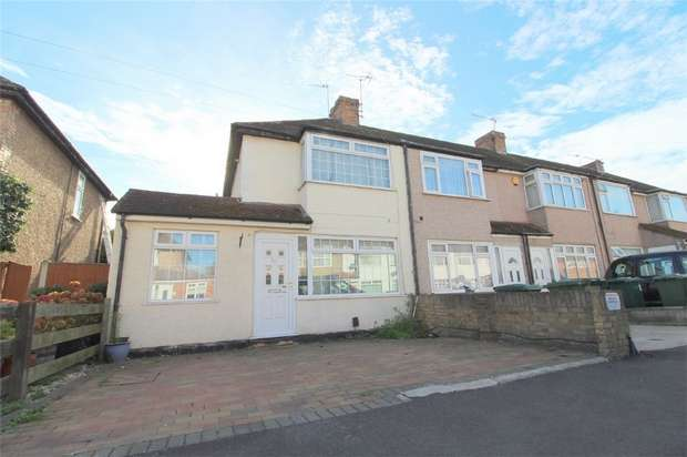 3 Bedrooms End Of Terrace House for sale in Cranford Avenue, Stanwell, Middlesex