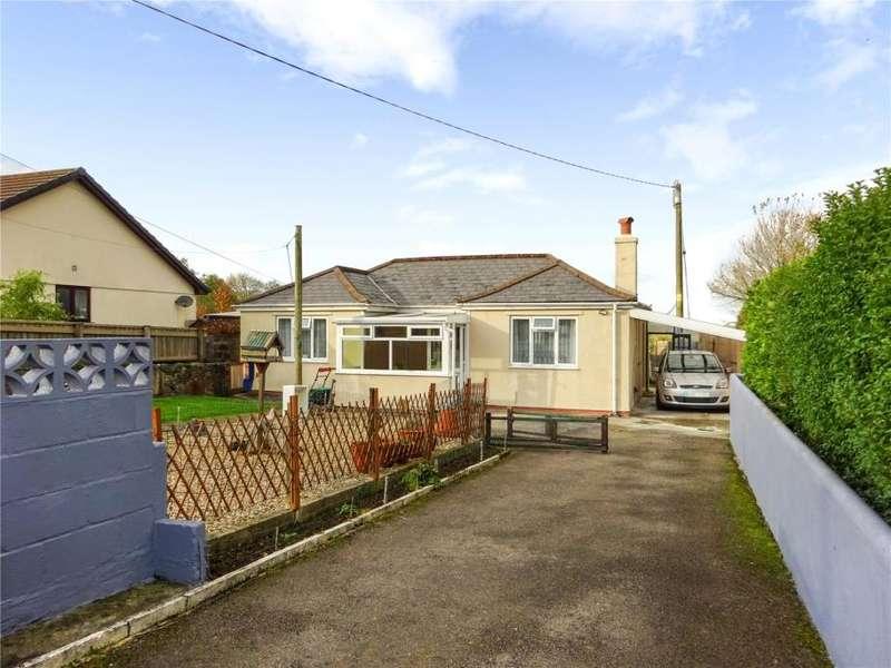 2 Bedrooms Detached Bungalow for sale in Upton Cross, Nr Liskeard, Cornwall