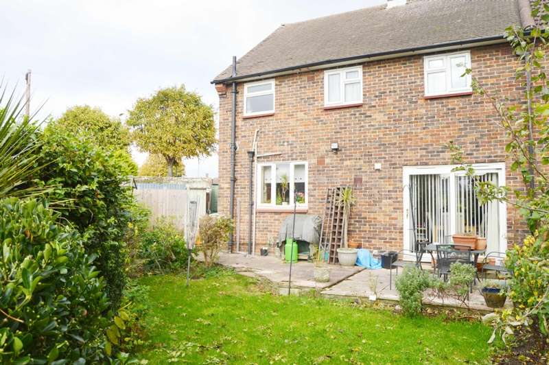 4 Bedrooms Semi Detached House for sale in Gooshays Drive, Harold Hill