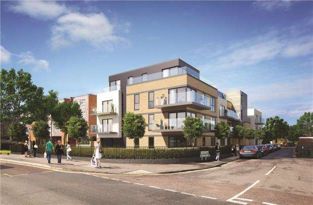 2 Bedrooms Apartment Flat for sale in Wharf Road, Guildford, Surrey