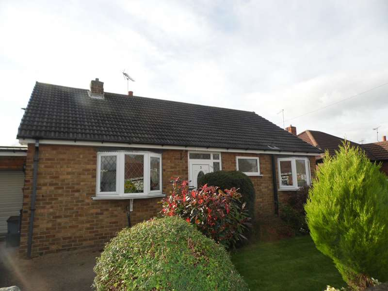 3 Bedrooms Detached Bungalow for sale in Mossdale Close, Doncaster, DN5
