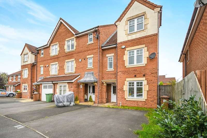 4 Bedrooms Terraced House for sale in Threadneedle Court, St. Helens, WA9
