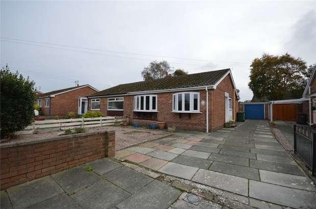 2 Bedrooms Semi Detached Bungalow for sale in Waterfield Close, Higher Bebington, Merseyside
