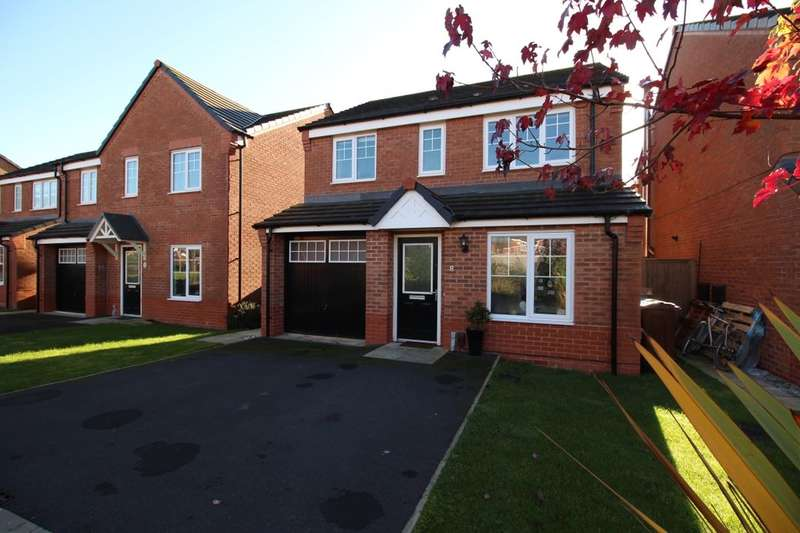 3 Bedrooms Detached House for sale in Primrose Close, Warton, Preston, PR4