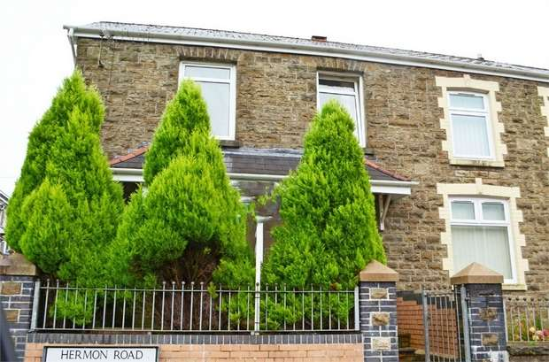 4 Bedrooms End Of Terrace House for sale in Hermon Road, Maesteg, Mid Glamorgan