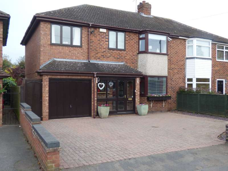 4 Bedrooms Semi Detached House for sale in Stirling Avenue, Leamington Spa