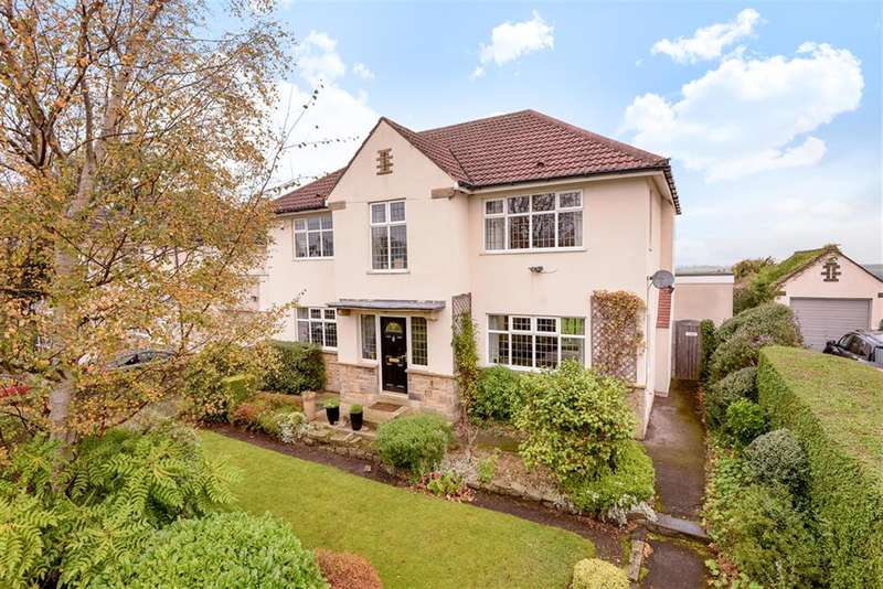 4 Bedrooms Detached House for sale in Lakeland Crescent, Alwoodley, Leeds, LS17 7PR