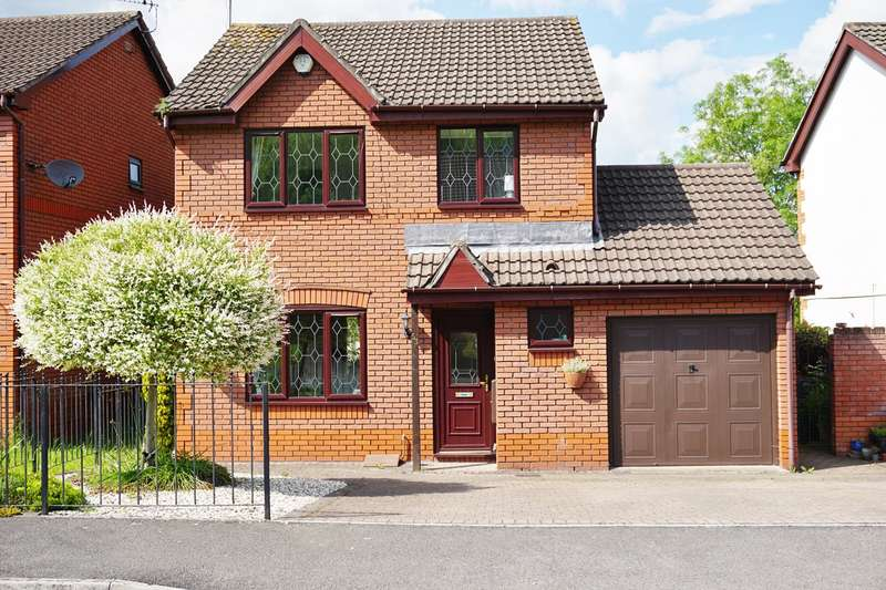 3 Bedrooms Detached House for sale in Blossom Close, Langstone, Newport, NP18