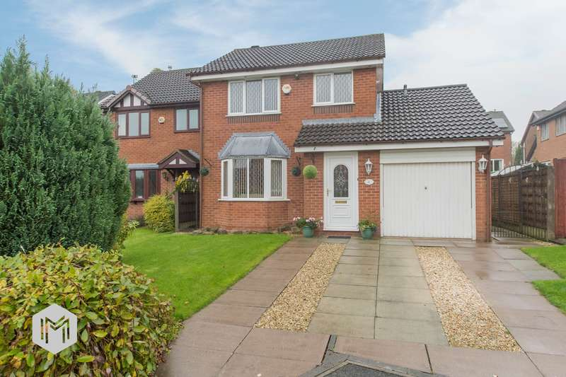 3 Bedrooms Detached House for sale in Cringle Close, Bolton, BL3