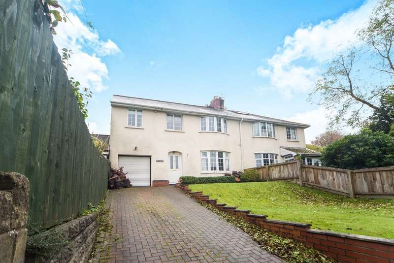 4 Bedrooms Semi Detached House for sale in St Martins Road, Caerphilly