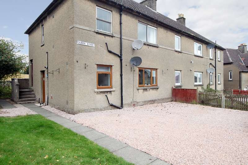 2 Bedrooms Ground Flat for sale in Queen Street, Freuchie, Cupar, Fife, KY15 7HP