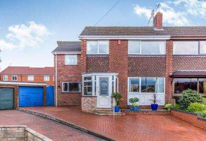 4 Bedrooms Semi Detached House for sale in Oban Close, Thistleberry, Newcastle Under Lyme, Staffs