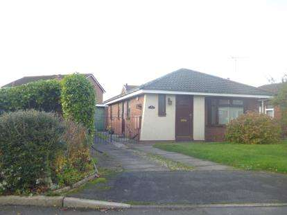 2 Bedrooms Bungalow for sale in Burnsall Drive, Widnes, Cheshire, WA8