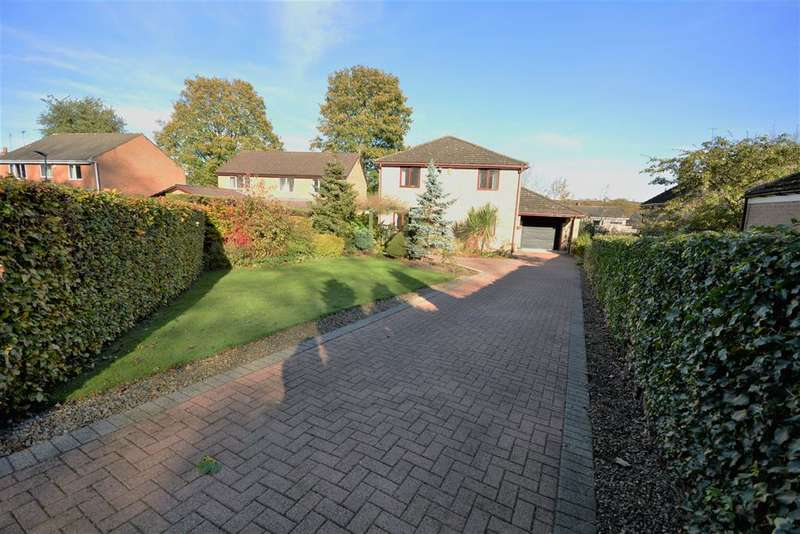 4 Bedrooms Detached House for sale in Vicarage Close, Howden Le Wear, Crook, DL15 8RB