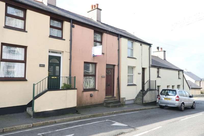 1 Bedroom Terraced House for sale in High Street, Caernarfon, Gwynedd, LL55