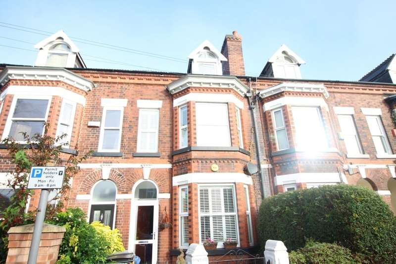 4 Bedrooms Terraced House for sale in Marsland Road, Sale, M33