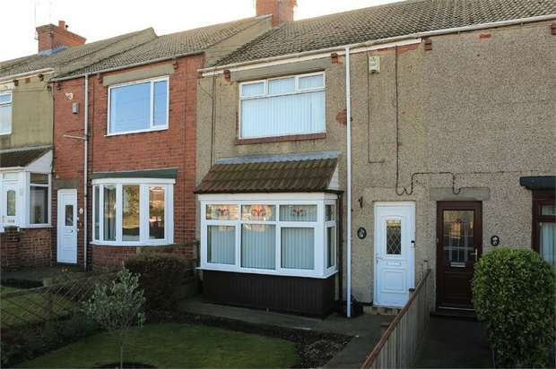 2 Bedrooms Terraced House for sale in Glenholme Terrace, Blackhall Colliery, Hartlepool, Durham
