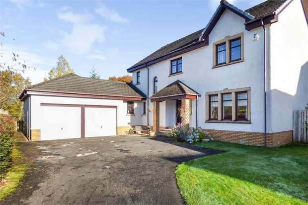 4 Bedrooms Detached House for sale in Golf View, Strathaven, South Lanarkshire