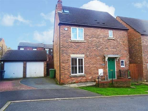 4 Bedrooms Detached House for sale in Emerald Drive, Oldham, Lancashire