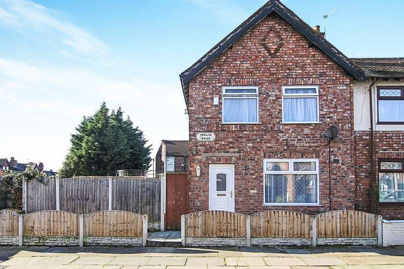 2 Bedrooms Terraced House for sale in Inglis Road, LIVERPOOL, L9