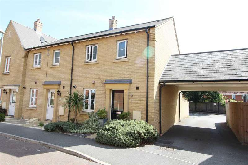 3 Bedrooms End Of Terrace House for sale in Chapman Place, Mile End, Colchester