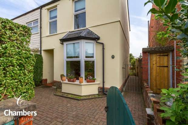 3 Bedrooms Semi Detached House for sale in Old Church Road, Whitchurch, Cardiff, CF14
